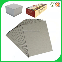 Top quality Hard board Book Binding Cover Material Grey Board / Grey straw board