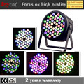 Guang zhou cheap price 54x3w rgbwa plastic led par dj lighting with 2 years warranty