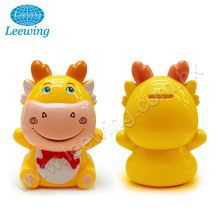 Lowest Price Children Safe Plastic Blowed Dragon Coin Bank