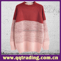 stylish women winter coat mohair knitting casual women/lady sweater