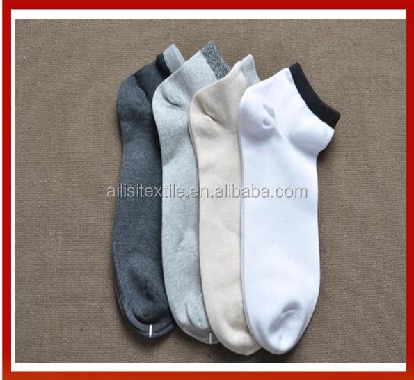 Men Custom Logo Sport Ankle Socks New Design Ankle Compression Socks Custom Ankle Sport Socks High Quality