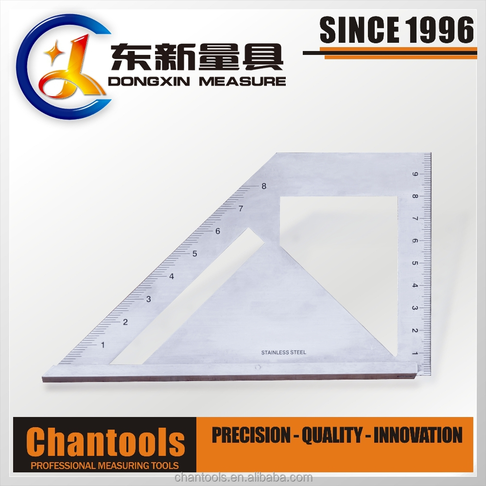 [CHANT] Stainless Steel Multi Function Angle Square Ruler