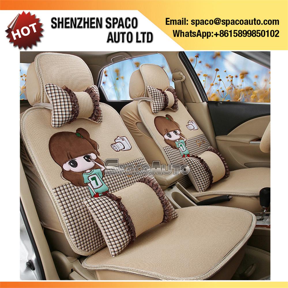 Japanese Design Cartoon Car Seat Cover Universal 1 Sets - Buy Car ...