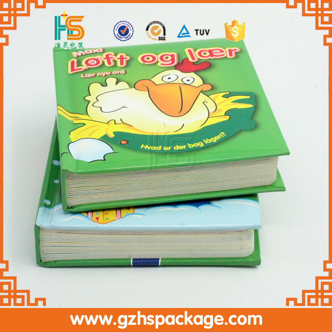 Colorful Cartoon Cute Photos Funny Book for Child/Kids Printing Short Story English Books Wholesale
