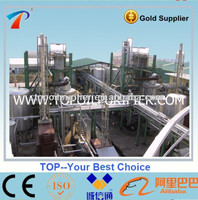 Car waste oil recycling system with distillation technology, discoloration, saves money and protects the environment