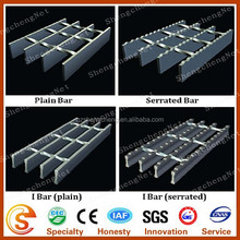 Zinc coated steel grating floor Galvanized steel grating fence