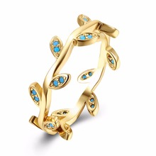 Popular vines ring for women gifts fashion luxury fashion kallaiter ring jewelry gift