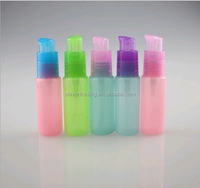 cheap price 20ml cosmetic plastic bottle with pump