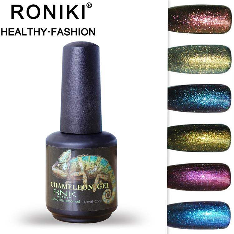 Rnk Free Products Sample15ml Galaxy Gel Polish Soak Off Uv/led ...