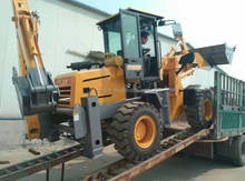farm tractor with front loader and backhoe for sale