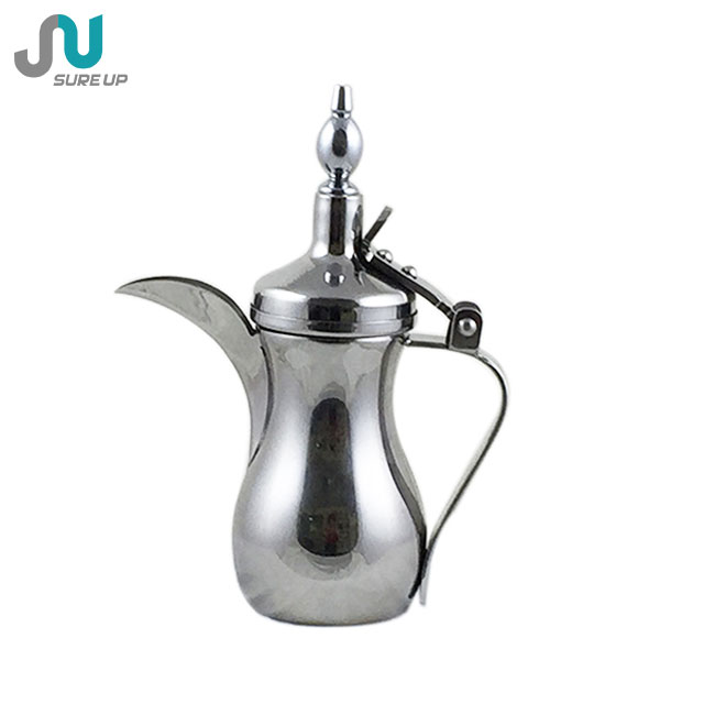 Antique arab stainless steel coffee pot,water jug 201