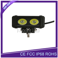 automobile car part led atv bar spotlight 4x4 offroad single row mini wholesale led light bar
