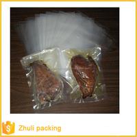 food/seafood/frozen food embossed vacuum storage bag