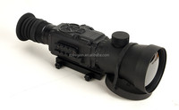 thermal night vision rifle scope for hunting with 75mm lens
