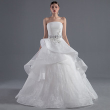 Z92729A 2017 New Fashion European Wedding Dress Sex, Alibaba Wedding Dress,High Quality Sleeveless Wedding Dress