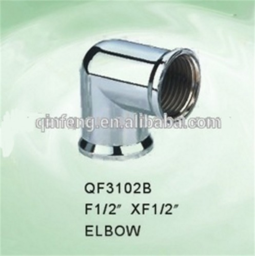 zinc and brass elbow offered.pipe fitting used in faucet,mixer,tap accessories.best seller