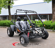 go kart with 4 wheel drive/2 person go kart/dune buggy two seat go kart