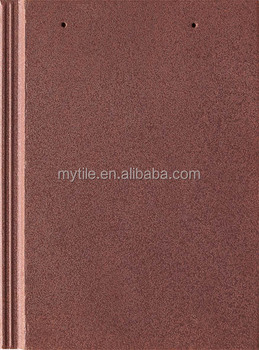 Light Weight royal brown ceramic flat roof tile