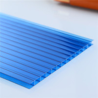 plastic sun sheet hollow polycarbonate plastic types sheet for roof