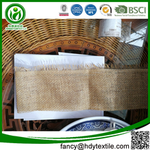 Factory service Multi purpose Nature color hessian jute cloth jute cloth uses jute fabric