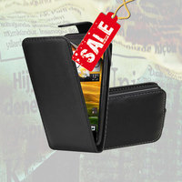 Leather Flip Case Cover Pouch for Samsung Galaxy Express i8730 Galaxy S Duos S7562 and other Samsung models