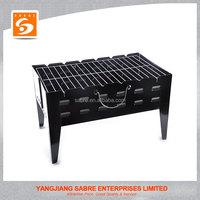 2016 Hot selling foldable steel BBQ grill for outdoors