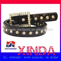 Magnificent Women's Crystal PU Leather Belt with High-quality, Best Highlight for Your Clothes