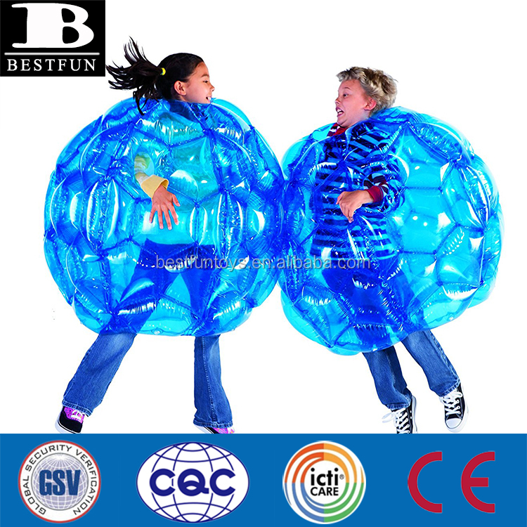 high strength PVC inflatable bubble bumper ball durable plastic inflatable human football inflatable body zorb ball