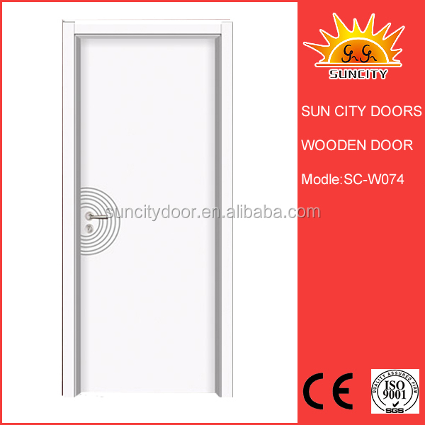On stock fire rated wooden door SC-W074