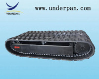 Rubber Tracked Excavator&Bulldozer Undercarriage