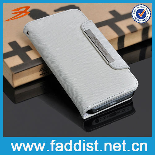 New Stylish Wallet Leather Pouch Case for iphone5
