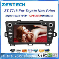 ZESTECH DVD Distributer 2din in car Stereo autoradio DVD GPS RADIO AUDIO Navigation mp3 player for Toyota Prius