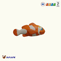 Promotional anti-stress golden fish toy, pu child toy