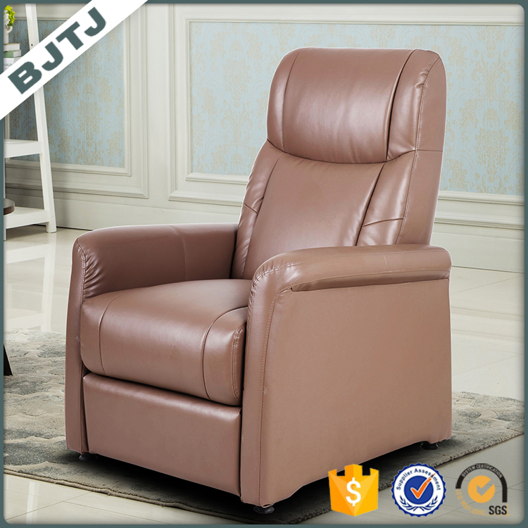 BJTJ European style modern leather one seat wholesale recliner sofa 70127