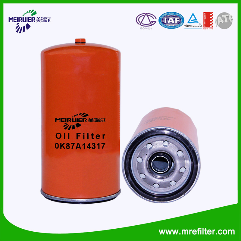 Oil filter for Passenger Car 0K87A14317