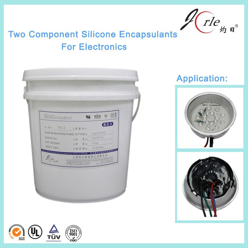 Two component transparent silicone gel sealant/silicone gel for pcb