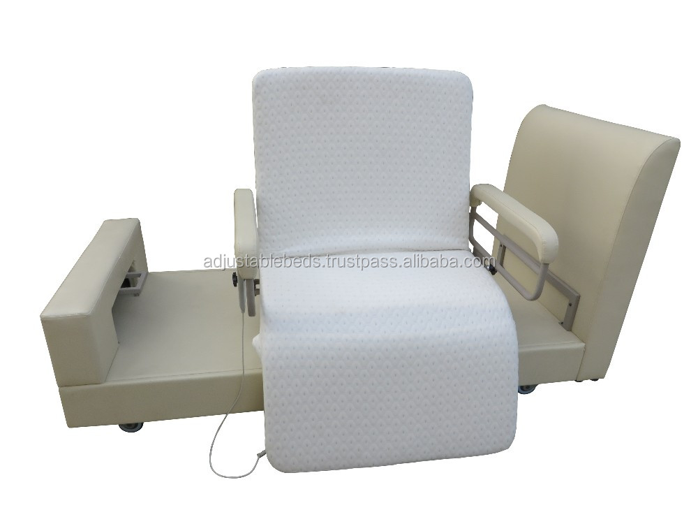 Hospital Chair Type Electric Adjustable Bed For Home Use