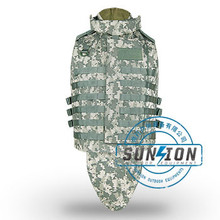 Camouflage High Quality Ballistic Vest adopt Kevlar or TAC-TEX material