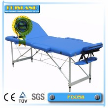 Aluminium Leg Massage Bed Portable Massage Table Aluminium