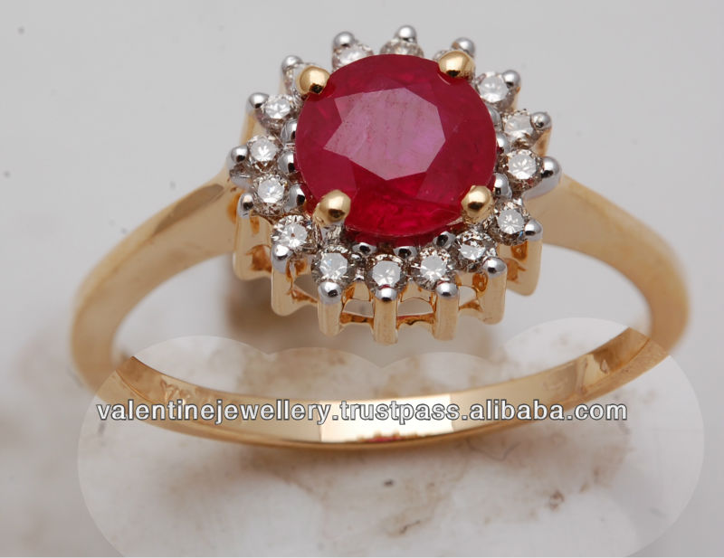 light weight ruby ring jewelry, light weight gold jewelry supplier, real jewelry with precious stones manufacturer