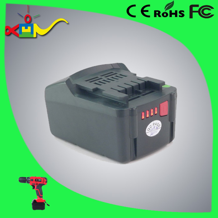 rechargeable battery replace for Metabo 18v li-ion N-P120143