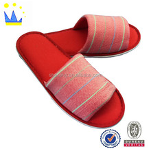 New Design Embroidery Soft EVA Sole Comfortable Indoor Slippers