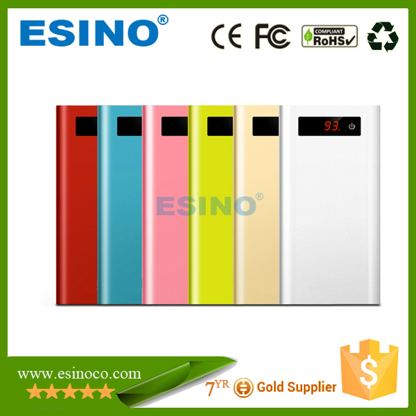 2015 Good Quality universal portable power bank, slim power bank For All Kinds Of Mobilephone and consumer electronics