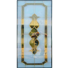 aluminum mosaic glass soundproof glass interior doors