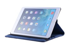 360 Degree Rotating PU Leather Stand Case for iPad Air2 For Ipad 6