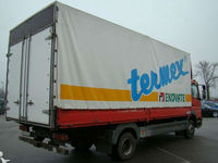 Truck cover/side curtain fabric