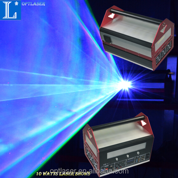 Laser logo projector 8W RGB advertising laser shows devices with high quality.