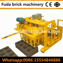 Mobile Hydraulic Manual Concrete Block Machinery Price List