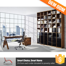 2016 Hot Selling Product Library Wall Luxury Wooden Desktop Bookcase
