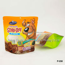 Manufacturer wholesale stand up pouch packaging, dog treat pouch, dog food bag